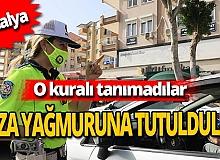 Antalya haber: 10 Dakikada 4 bin 452 TL ceza kesildi