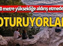 Antalya haber: 20 metreden düşüp yaralandı!