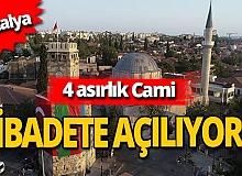 Antalya haber: 4 asırlık Tekeli Mehmet Paşa Camisi ibadete açılıyor