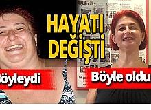 Antalya haber: 75 kilo verdi, hayatı değişti