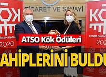 Antalya haber: ATSO Kök Ödülleri sahiplerini buldu