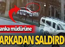 Antalya haber: Banka müdürüne çirkin saldırı