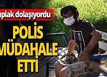Antalya haber: Bankta çıplak yatan adam için esnaf devreye girdi