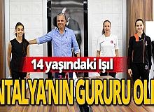 Antalya haber: Başarılı sporcu, ay yıldızlı forma için ter akıtıyor