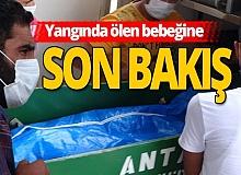 Antalya haber: Bebeğinin cansız bebeğini morgdan aldı