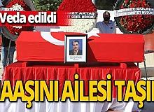 Antalya haber: Oğuz Oral Aydın son yolcuğuna uğurlandı