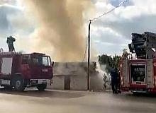 Antalya haber: Finike'deki yangında şans eseri can kaybı yok