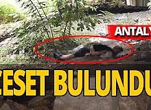 Antalya haber: Köprü altında ceset bulundu