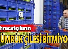Antalya haber: İhracatçılar isyanda! Gümrük kapılarında beklemek istemiyorlar