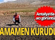 Antalya haber: İkiz Göller kurudu