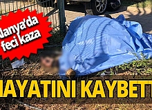 Antalya haber: Kask takmadı canından oldu!