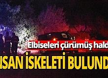Antalya haber: Kayalık alanda insan iskeleti bulundu