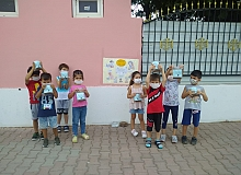 Antalya haber: Minik öğrenciler sokak hayvanlarını unutmadı