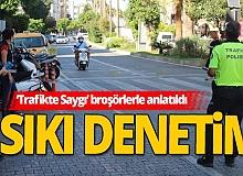 Antalya haber: Motosiklet sürücülerine yönelik sıkı denetim