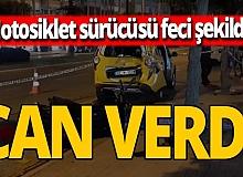 Antalya haber: Motosiklet sürücüsü feci şekilde can verdi