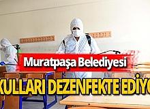 Antalya haber: Muratpaşa belediyesi, okulları temizliyor