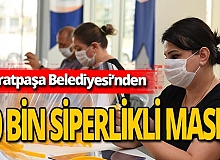 Antalya haber: Muratpaşa Belediyesi siperlikli maske üretiyor