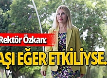 """Antalya haber: Rektör Özkan: """"Yüz yüze eğitim için öngörümüz olamıyor"""""""