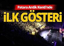 Antalya haber: Restorasyon sonrası ilk tiyatro gösterisi
