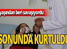 Antalya haber: Savaşçı minik Nafize pes etmedi, 8 yılın sonunda hastalığını yendi