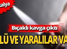 Antalya haber: Trafik kazası kavgası can aldı!