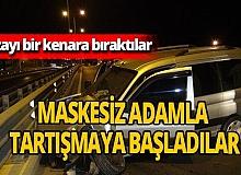 """Antalya haber: Trafik kazasında """"maske polemiği"""""""