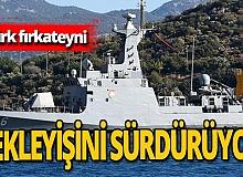Antalya haber: Türk fırkateyni limanda bekliyor