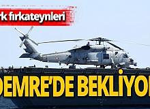 Antalya haber: Türk fırkateynleri 3 gündür bekliyor