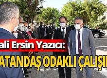 """Antalya haber: Vali Ersin Yazıcı'dan talimat geldi: """"Vatandaş odaklı çalışın"""""""
