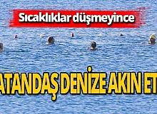 Antalya haber: Vatandaş denize akın etti