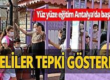 Antalya haber: Velilerden 'yüz yüze eğitim' isyanı!