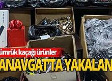 Antalya haber: Yüzlerce kaçak malzeme geçirildi