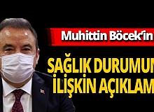 Antalya son dakika... Akdeniz Üniversitesi Başhekimliği'nden Muhittin Böcek açıklaması