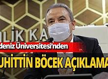 Antalya son dakika... Akdeniz Üniversitesi Başhekimliği'nden Muhittin Böcek'in sağlık durumu ile ilgili açıklama