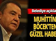 Antalya son dakika... Belediye'den Muhittin Böcek'in sağlık durumu hakkında açıklama