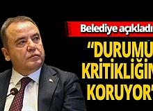 Antalya son dakika... Muhittin Böcek'in durumu ile ilgili belediyeden açıklama