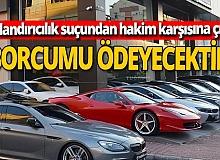 Antalya'da lüks otomobil dolandırıcılığı sanığı ilk kez hakim karşısında