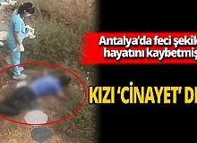 """Antalyalı sporcu Ayşe Taş: """"Babamın öldürüldüğünü düşünüyorum"""""""