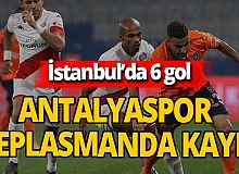 Antalyaspor deplasmanda kayıp!