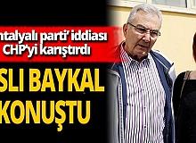 Aslı Baykal, 'Antalyalı Parti' iddiası hakkında konuştu