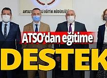 ATSO'dan eğitime destek