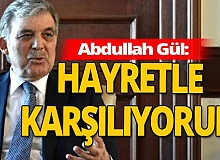 AYM tartışmalarına Abdullah Gül de dahil oldu