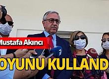 Bağımsız Cumhurbaşkanı adayı Mustafa Akıncı oyunu kullandı
