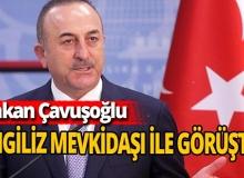 Bakan Çavuşoğlu İngiltere Dışişleri Bakanı Raab ile görüştü