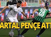SON DAKİKA! Beşiktaş Denizlispor'u 3-2 yendi