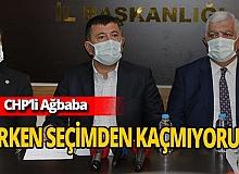 CHP'li Veli Ağbaba'dan erken seçim açıklaması
