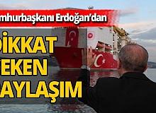 Cumhurbaşkanı Erdoğan'dan önemli sosyal medya paylaşımı