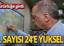 Cumhurbaşkanı Erdoğan, Kilis'i de o listeye ekledi