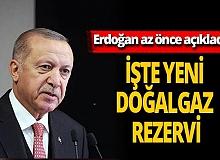 """Son dakika... Cumhurbaşkanı Recep Tayyip Erdoğan: """"Rezerv 405 milyar metreküp oldu"""""""