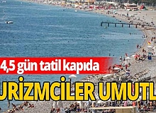 Turizmciye 'Cumhuriyet Bayramı' tatili morali